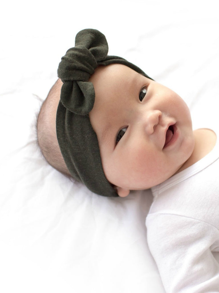 Topknot Headband | Dusty Olive