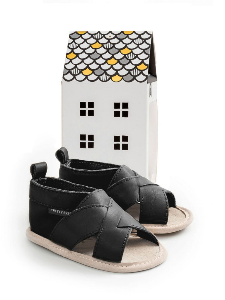 Cross Over Sandal | Castle Black