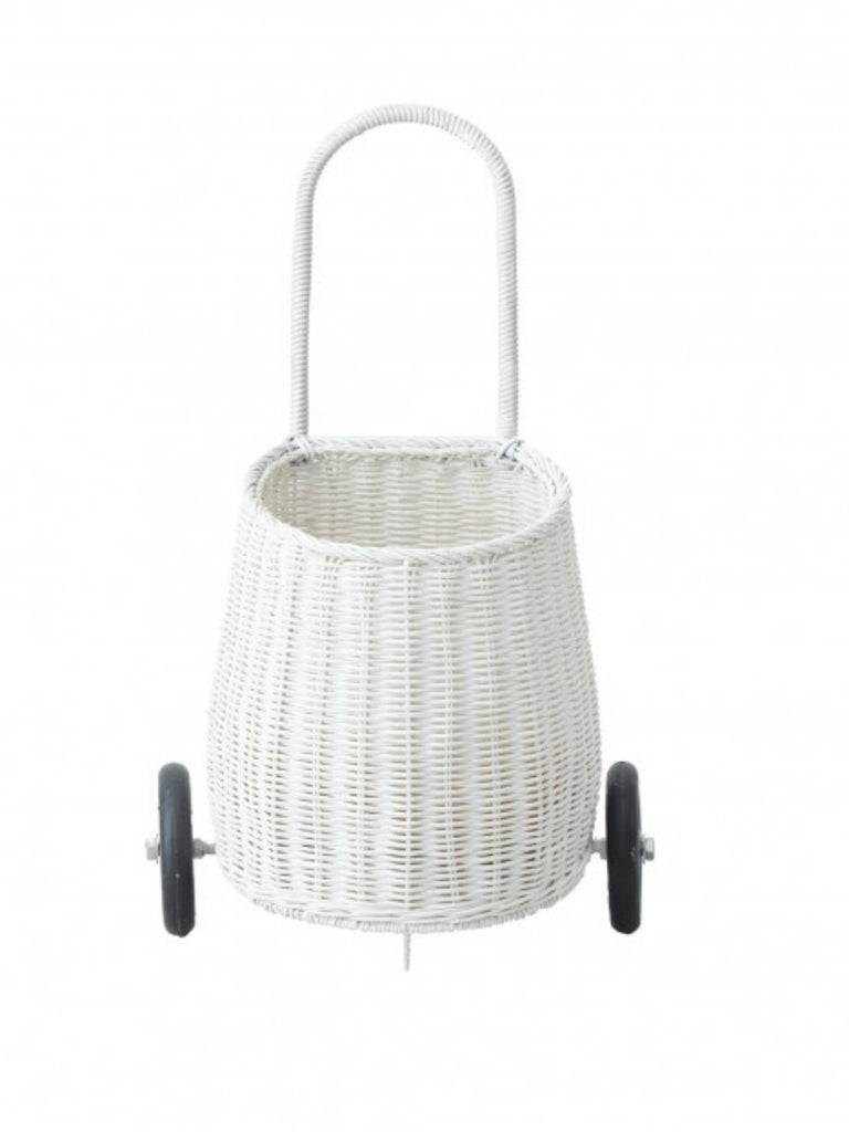 Olli Ella Luggy Basket | White