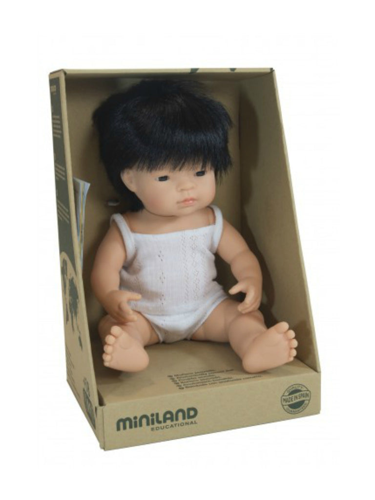 Miniland Doll | Asian Boy 38cm