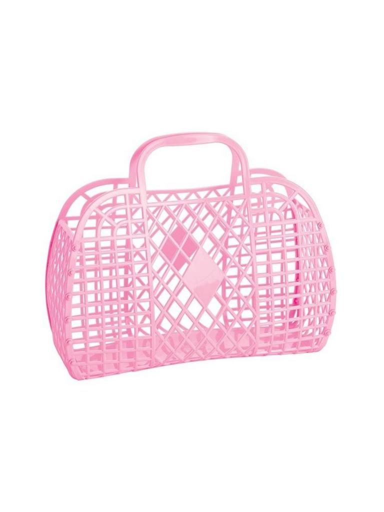 Sun Jellies Retro Basket | Bubblegum
