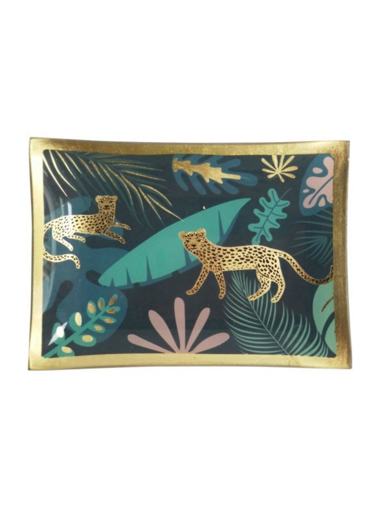 Cheetah Jungle Trinket Dish