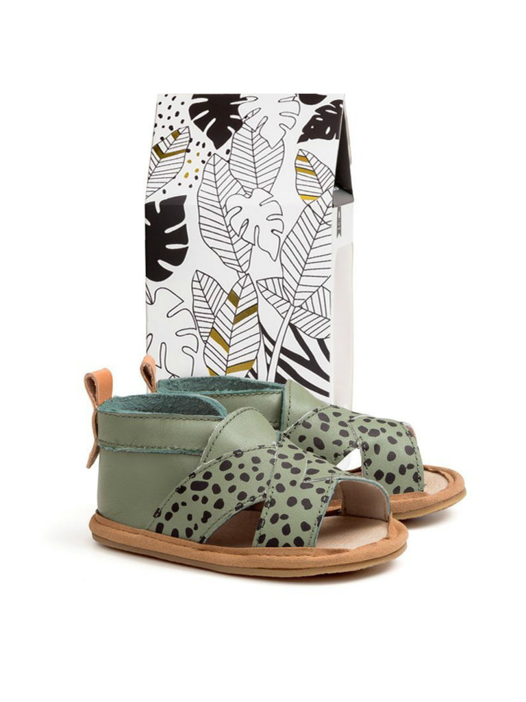 Cross Over Sandal | Jungle Spots