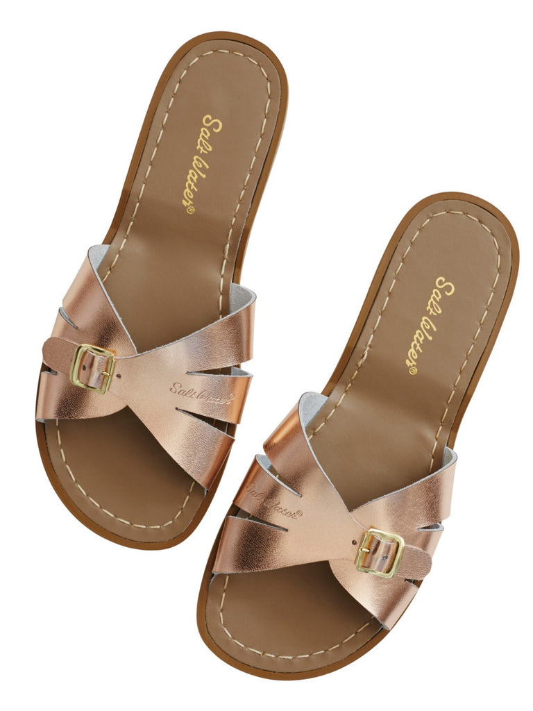 Salt Water Sandals Womens | Classic Slide Rose Gold