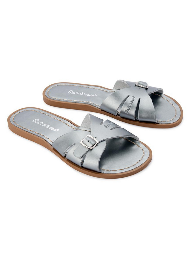 Salt Water Classic Slide |  Pewter