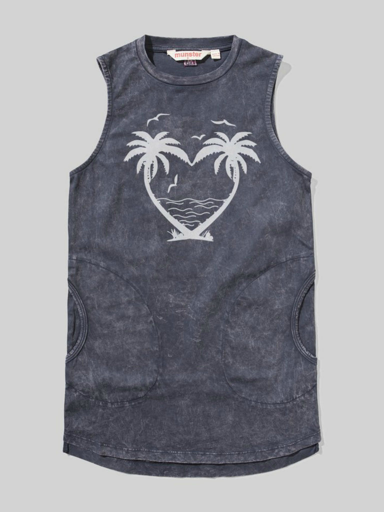 Missy Munster Palm Heart Dress