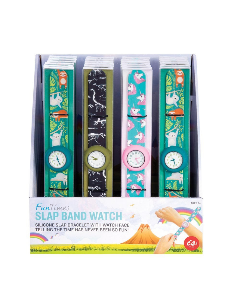 IS GIFT FUN TIMES Slap Band Watches