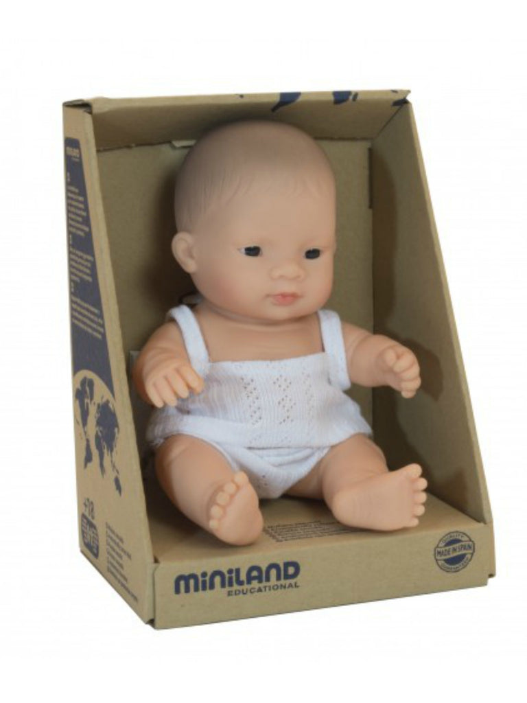 Miniland Doll | Asian Boy 21cm