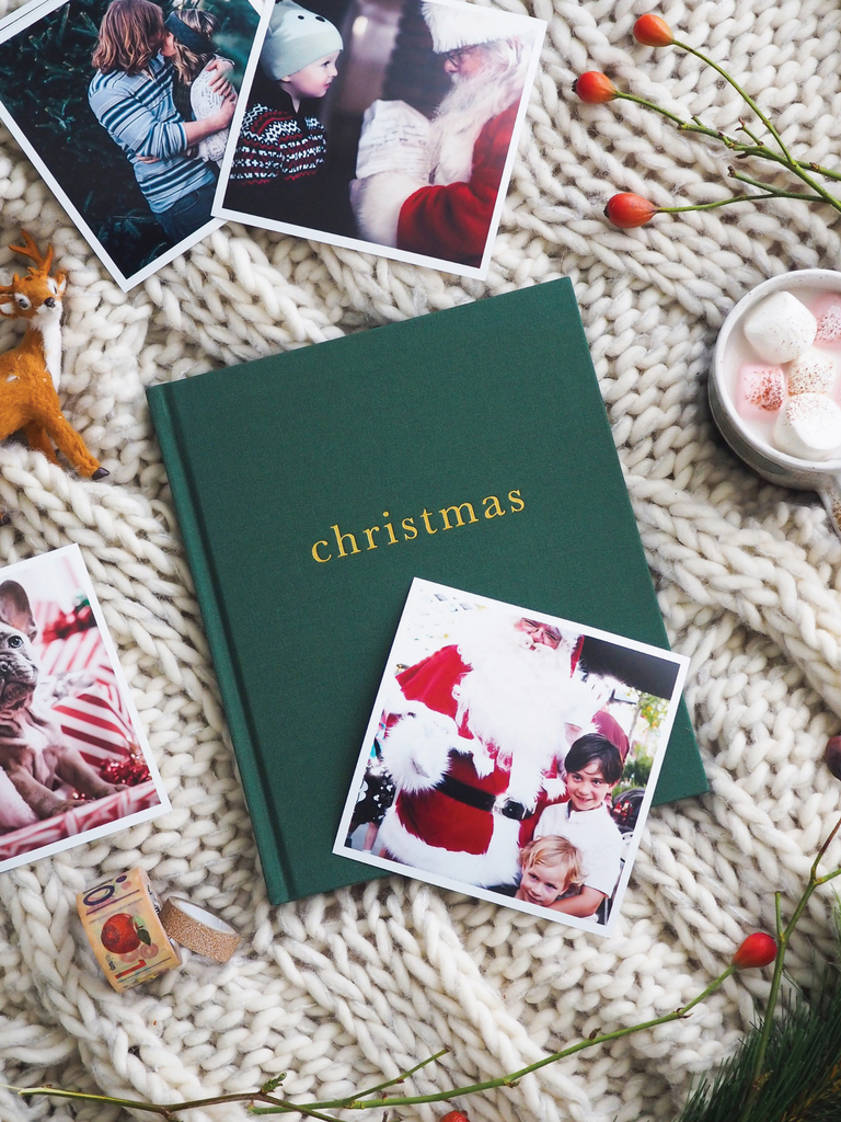 Write to Me Christmas - Family Christmas Book | Forest Green