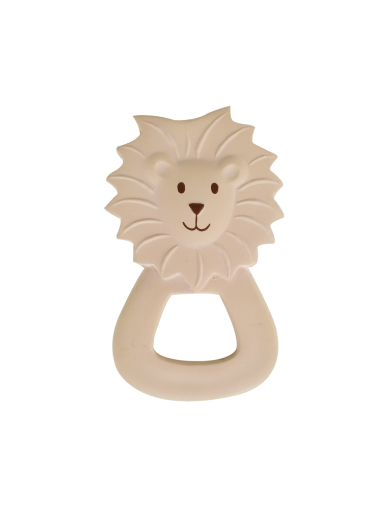 Tikiri Rubber Lion Zoo Teether