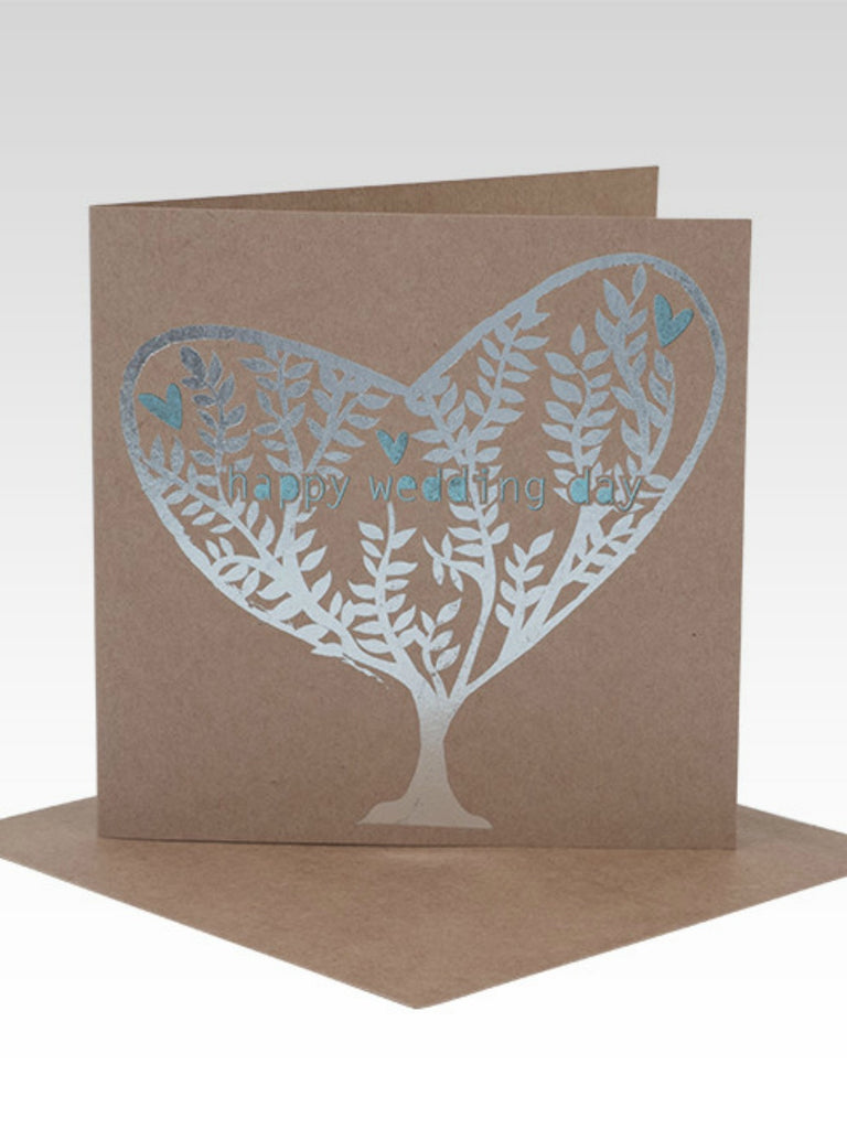 Greeting Card | Silver Tree