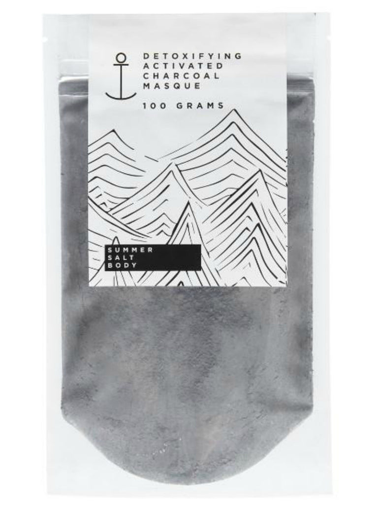 Activated Charcoal Clay Masque | 100g