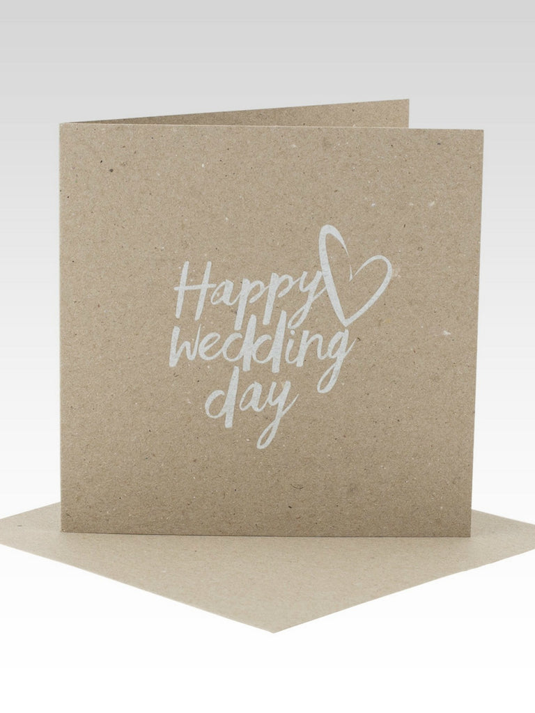Rhicreative Happy Wedding Day Card