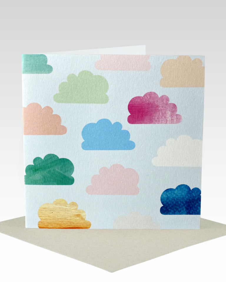 Rhicreative Clouds Card