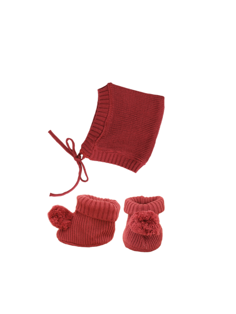 Olli Ella Dinkum Doll Knit Set | Plum