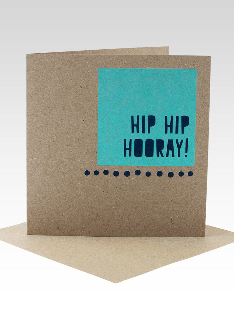 Rhicreative Fluoro Mint & Navy Birthday Card