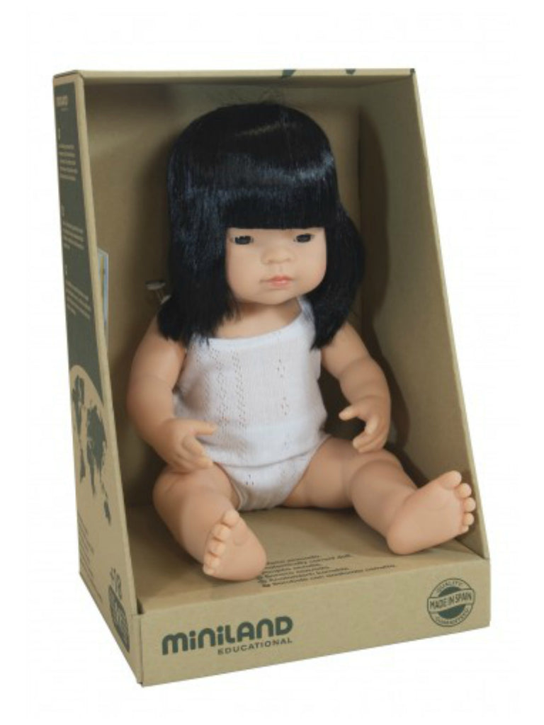 Miniland Doll | Asian Girl 38cm