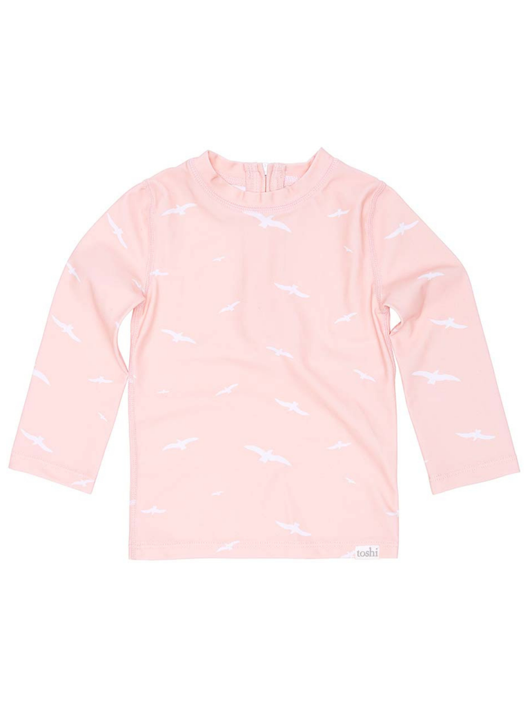 Toshi Swim Rashie Long Sleeve Palm Beach