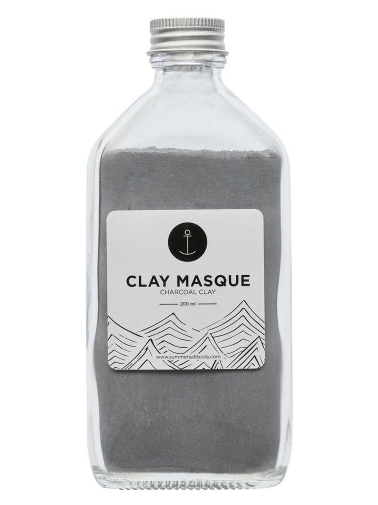 Activated Charcoal Clay Masque 200mL