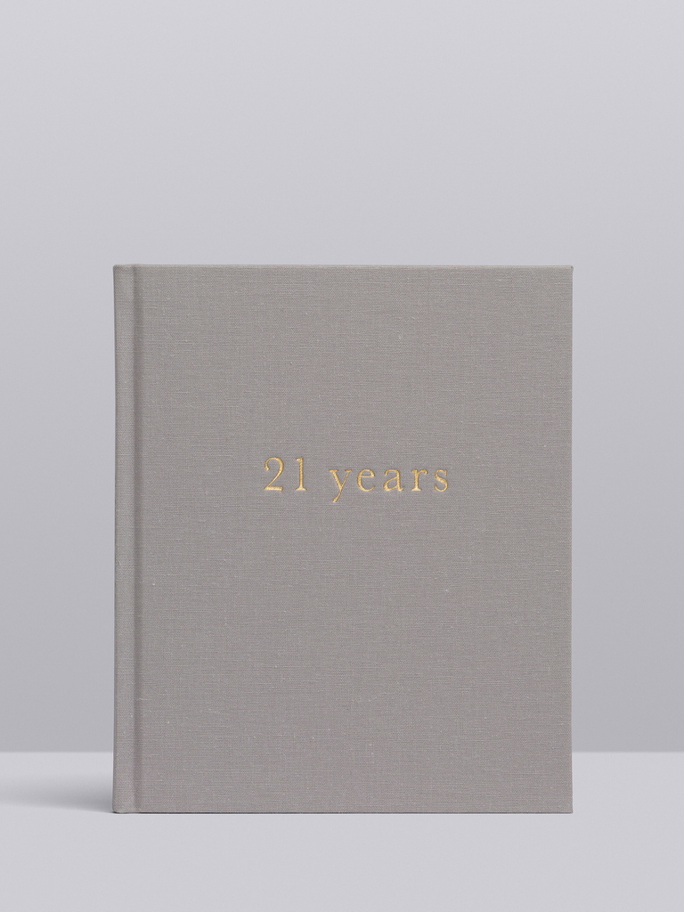 Write To Me 21 Years - 21 Years Of You | Grey