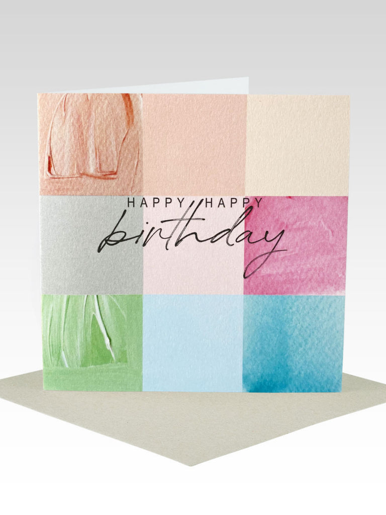 Rhicreative Birthday Squares