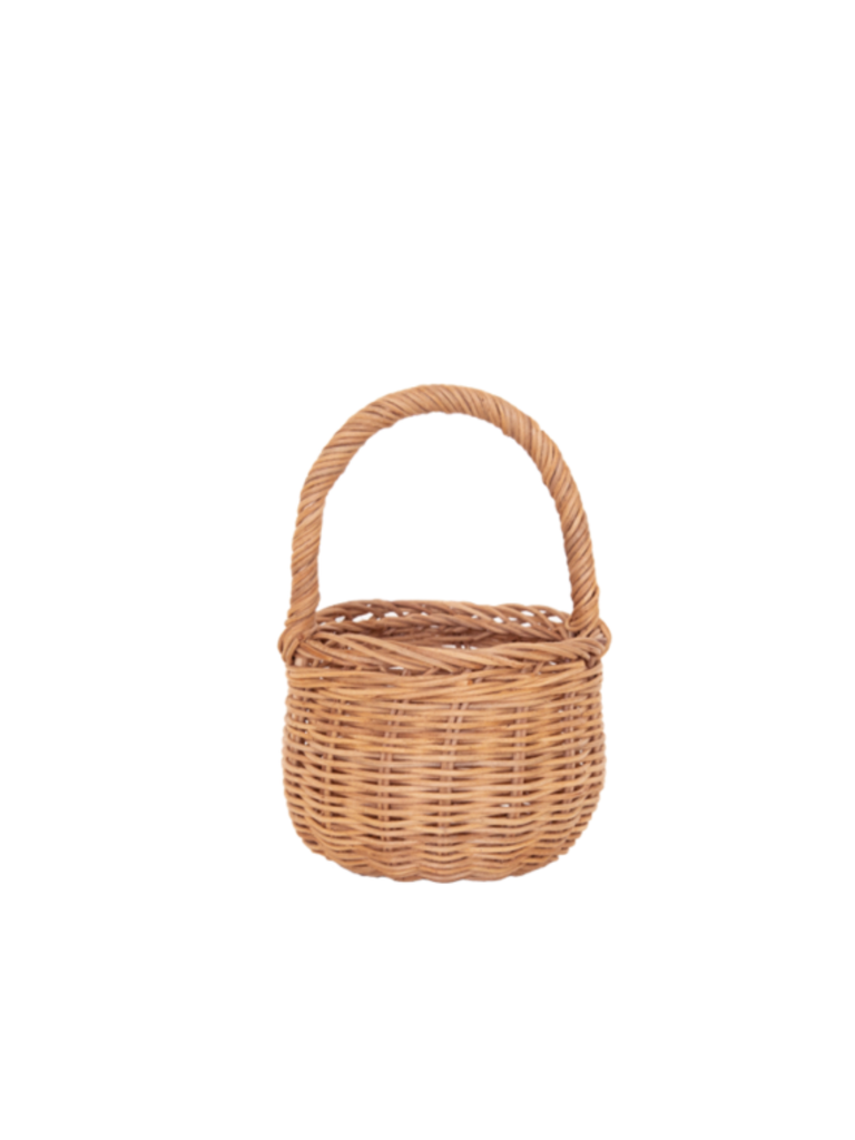 Olli Ella Rattan Berry Basket | Natural