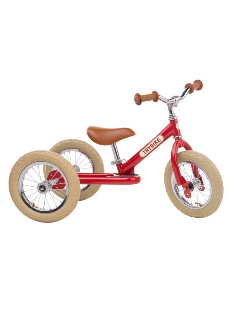 Trybike (3 wheel) | Red Vintage