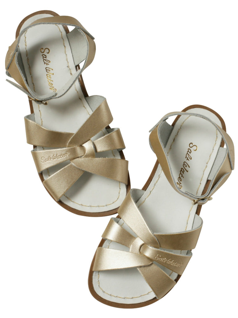 Salt Water Sandals Kids | Original Gold