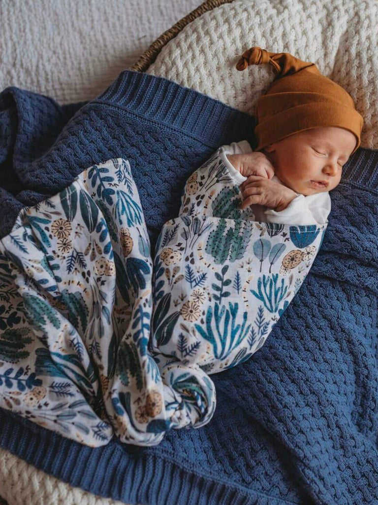 Snuggle Hunny Kids Organic Cotton Muslin Wrap | Arizona