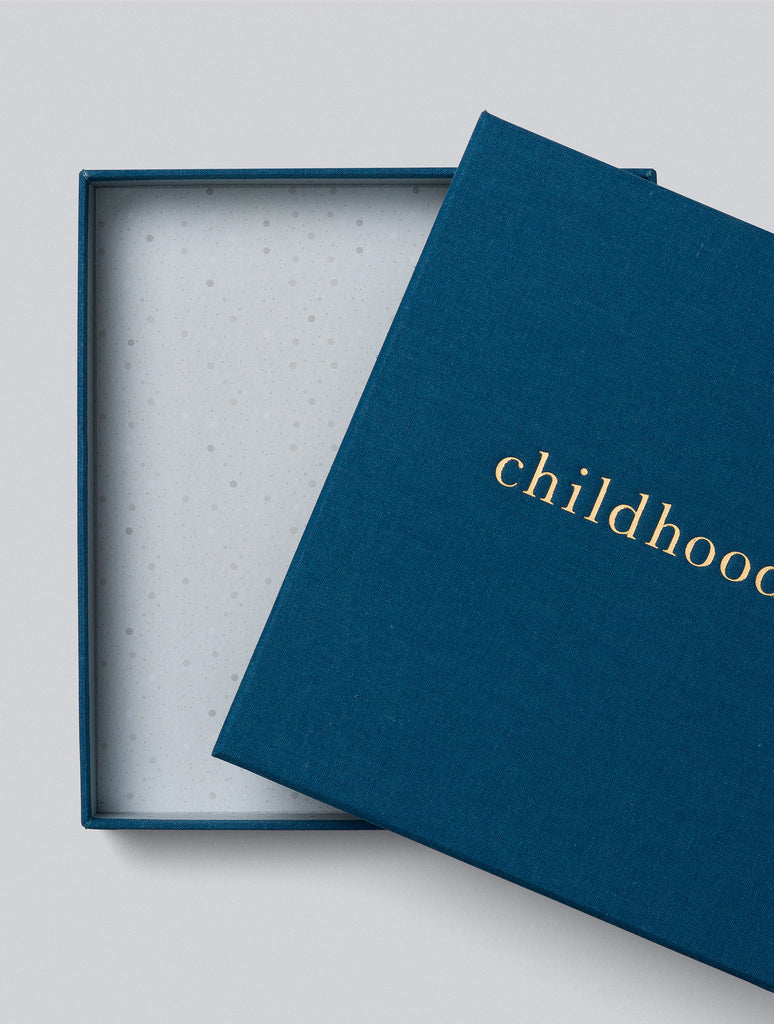 Write To Me Childhood. Your Childhood Memories | Royal Blue