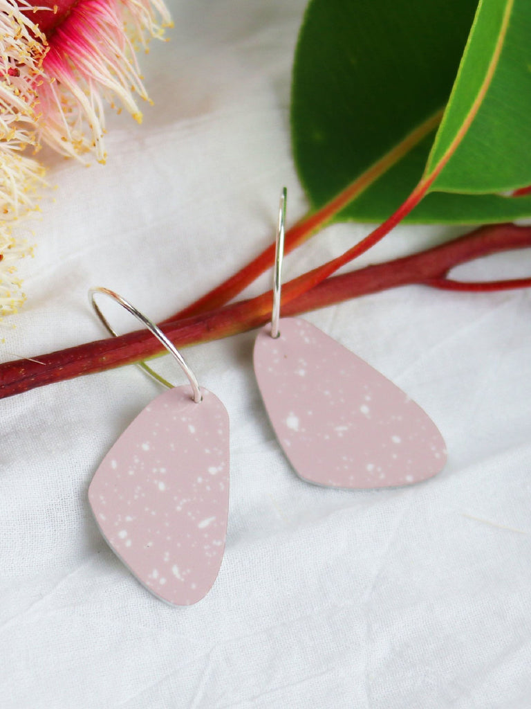 Date Night | Small Organic Shape Drop Earrings