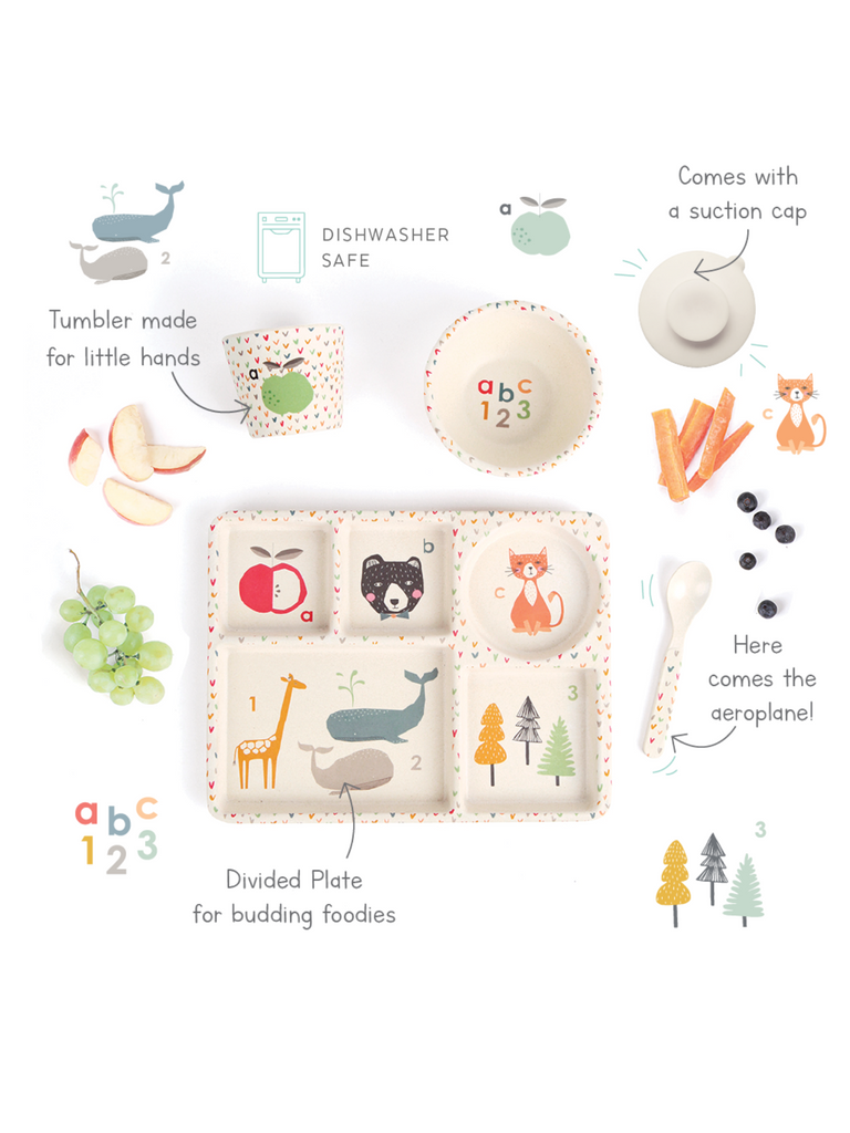 Love Mae Divide Plate Set | ABC