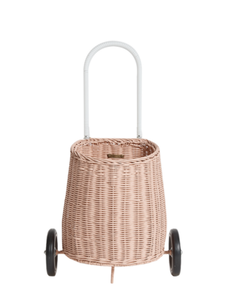 Olli Ella Luggy Basket | Rose