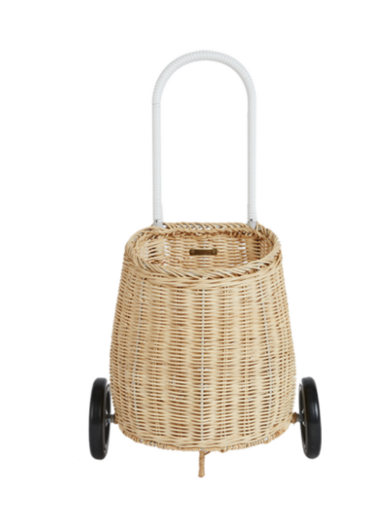 Olli Ella Luggy Basket | Straw