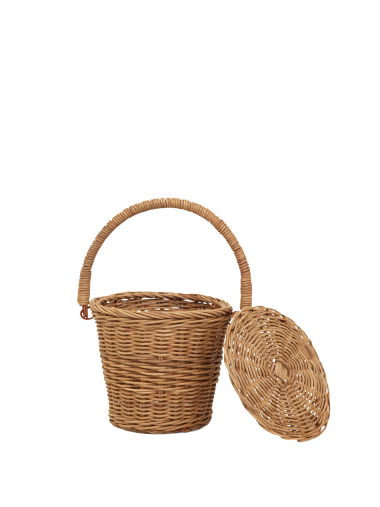 Olli Ella Little Apple Basket