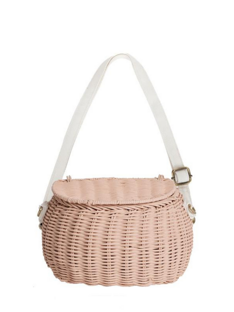 Olli Ella Mini Chari Bag | Rose