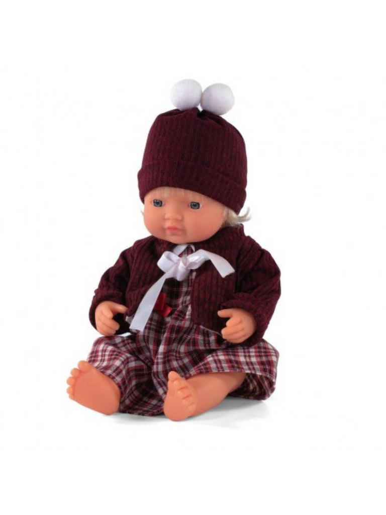 Miniland Doll Caucasian Girl and Outfit Boxed (38cm)