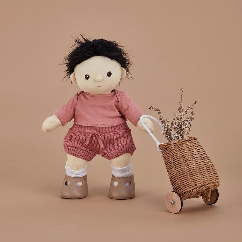 Olli Ella Dinkum Doll Snuggly Set | Berry