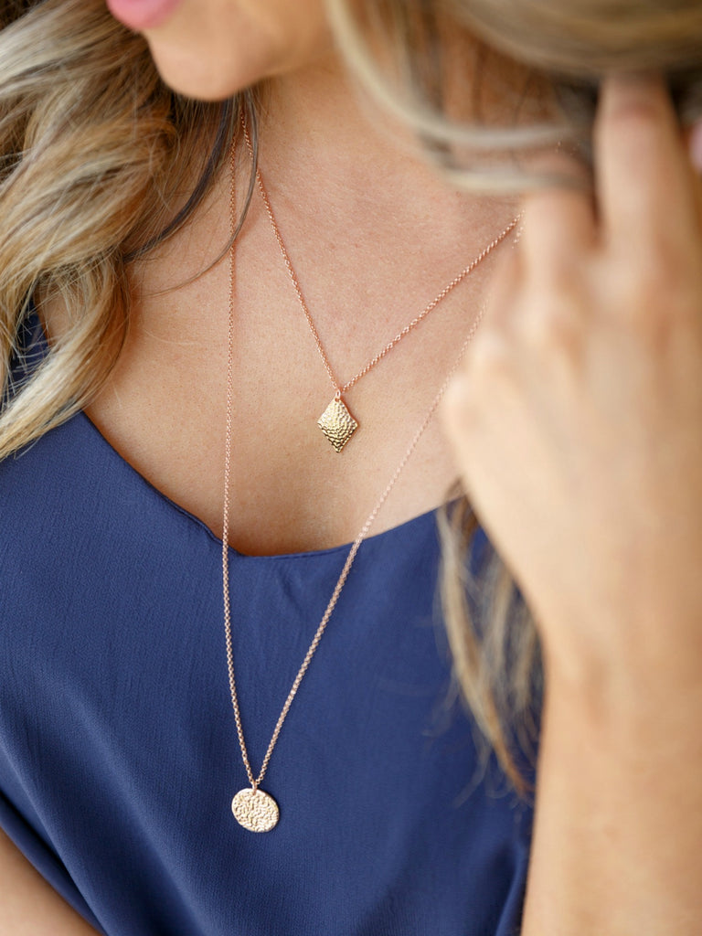 Starry Nights Necklace | Rose