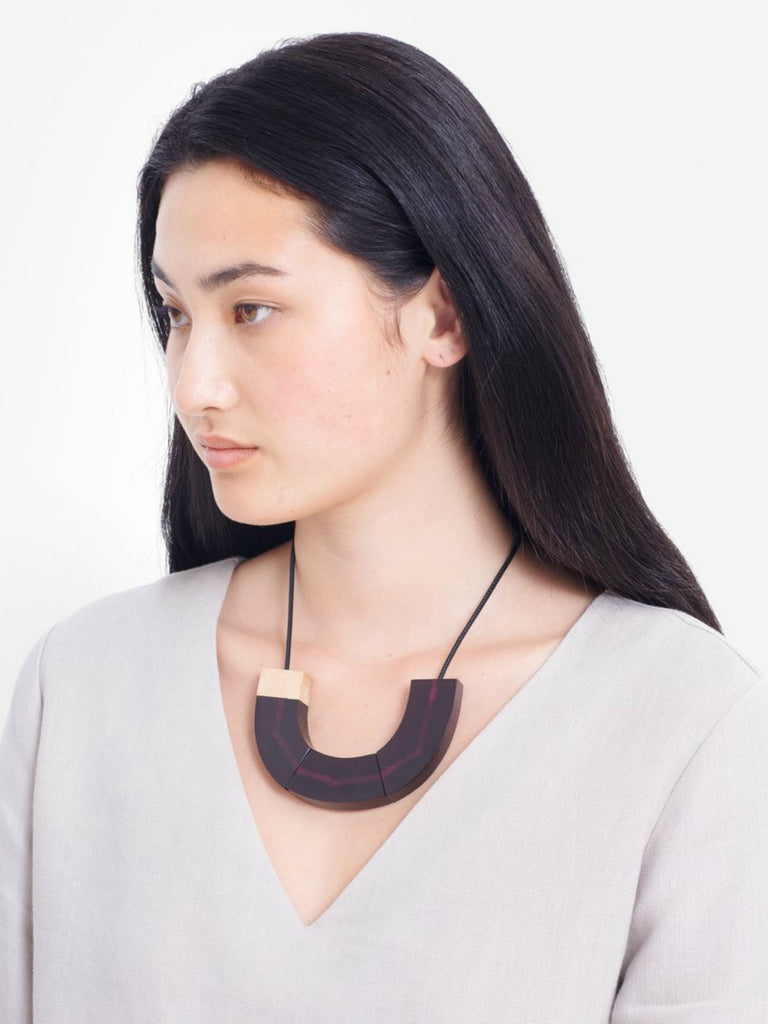 Yenni Necklace | Plum