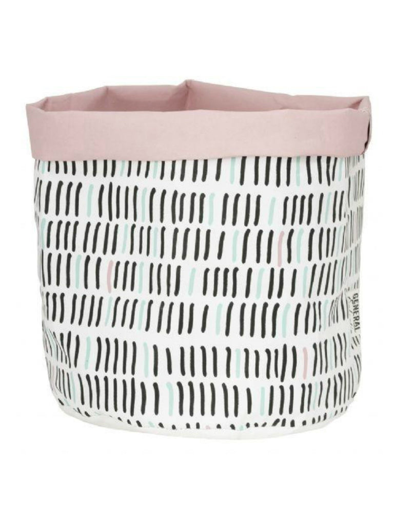 Wash Paper Bag | Tally Pink
