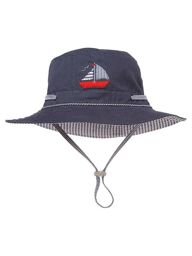 Sunhat Nautical | Navy