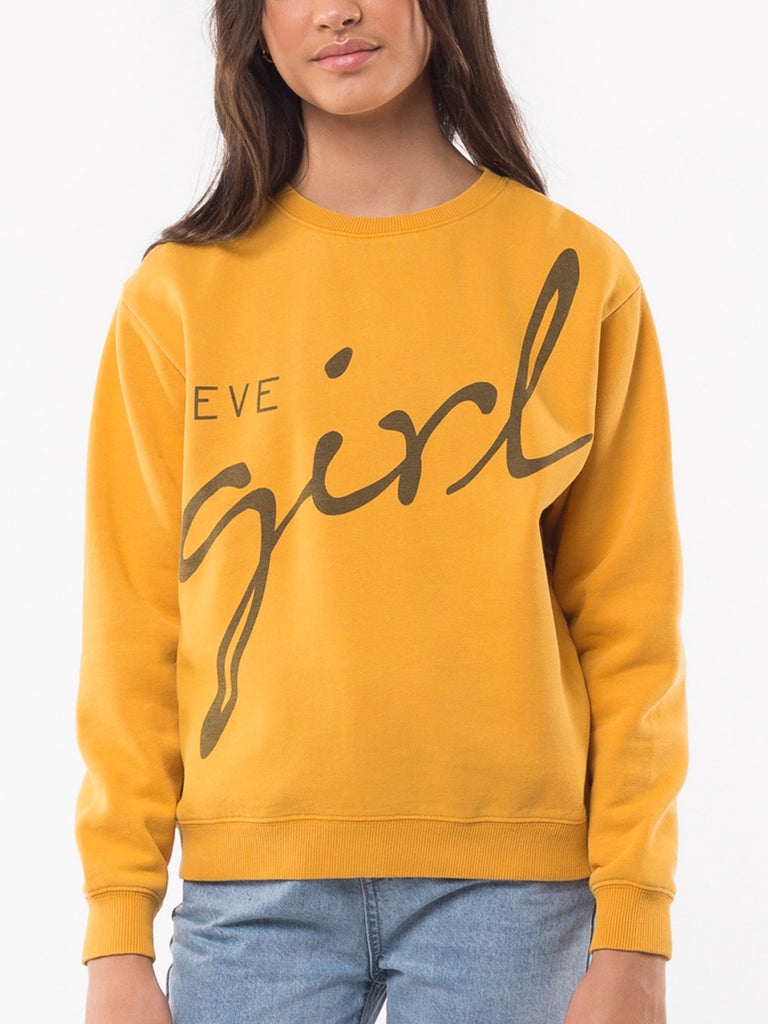 Eve's Girl Eve Girl Crew | Yellow