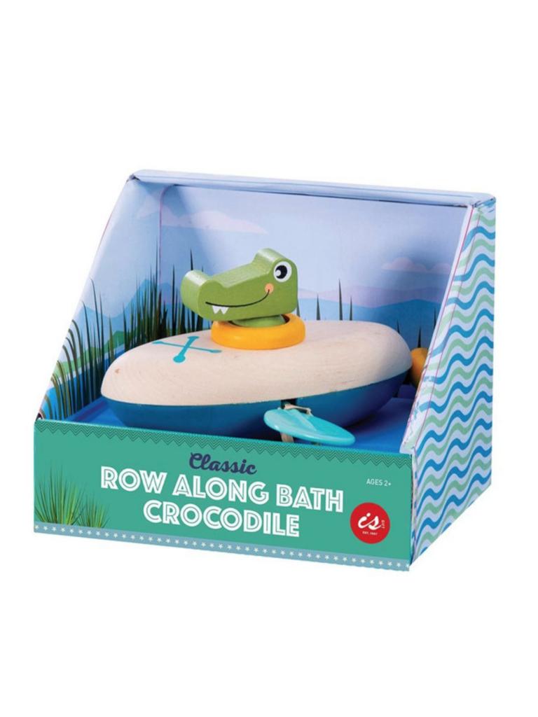 Classic Row Along Bath Crocodile
