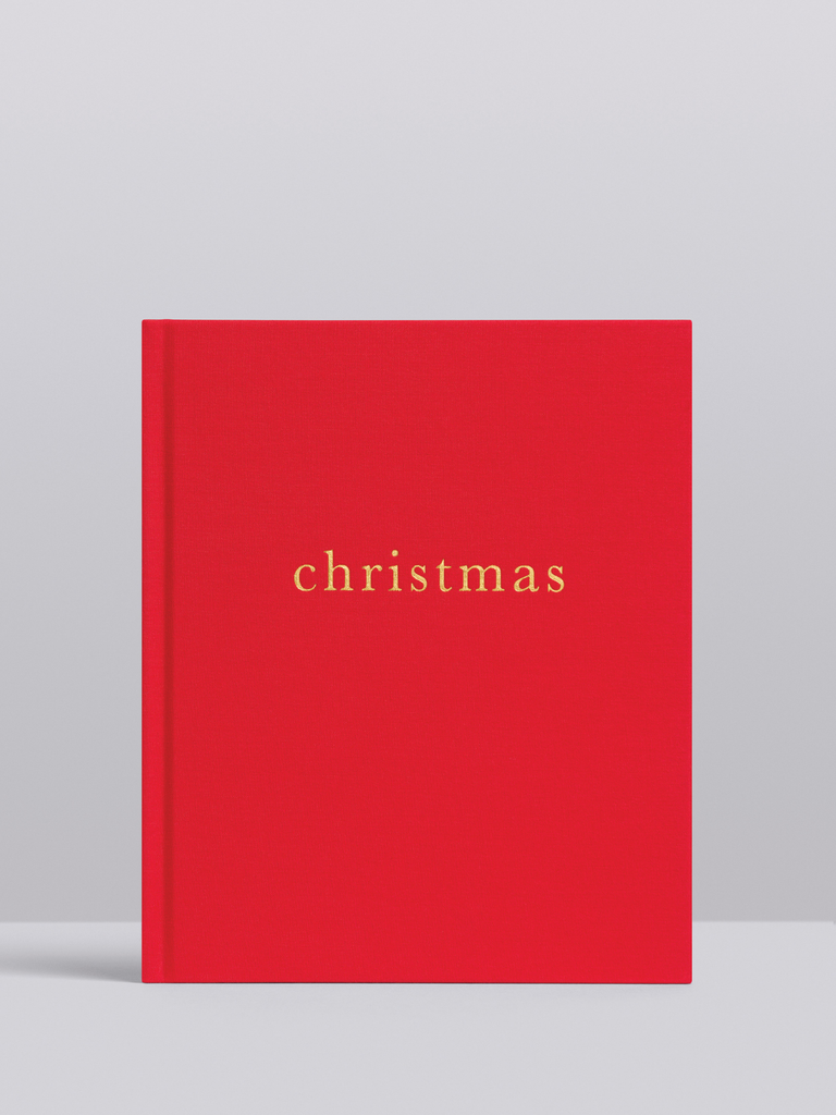 Write to Me Christmas - Family Christmas Book (Red)