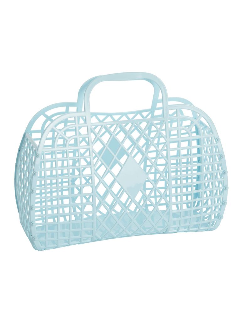 Sun Jellies Retro Basket | Blue