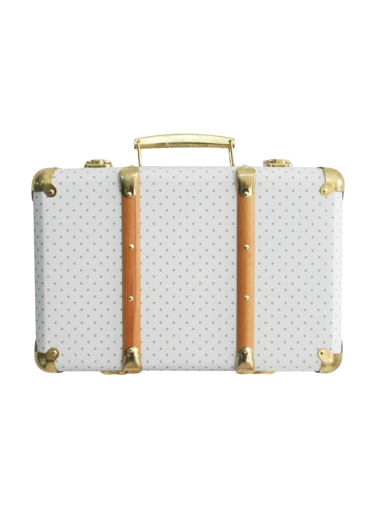 Alimrose Designs Mini Vintage Brief Case | Sage Spot