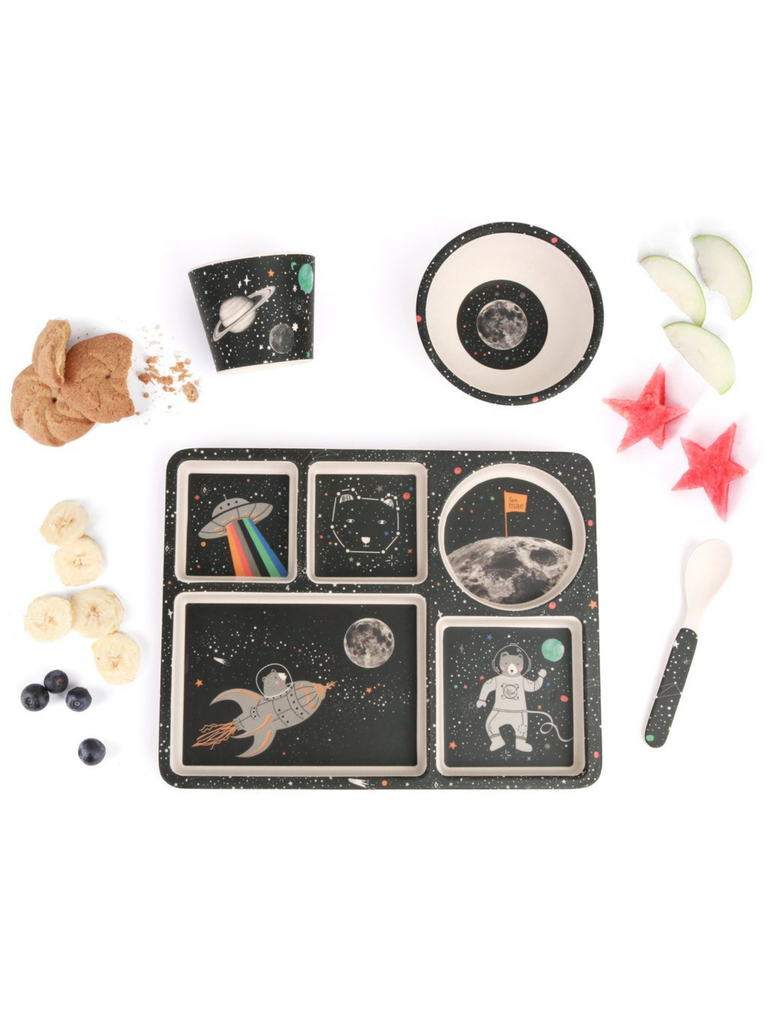 Love Mae Divide Plate Set | Space Adventure