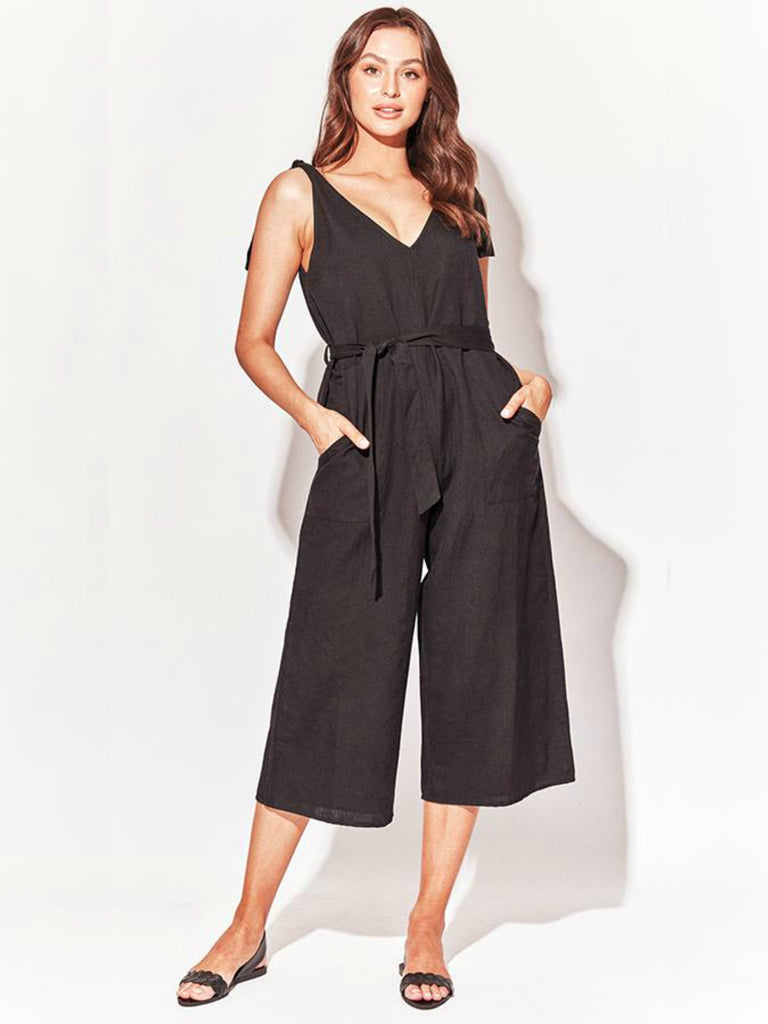 Montpellier Jumpsuit | Black