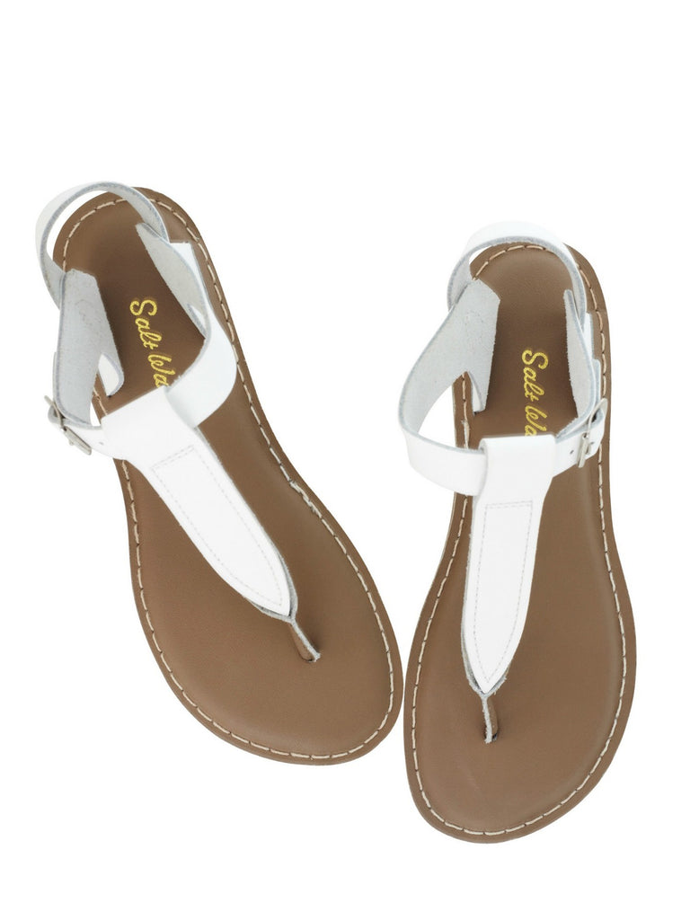 Salt Water Sandals Womens | T-Thong White